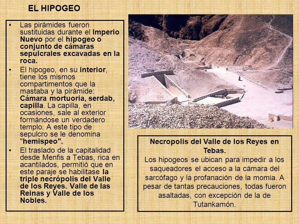 Necropolis del Valle de los Reyes en Tebas.