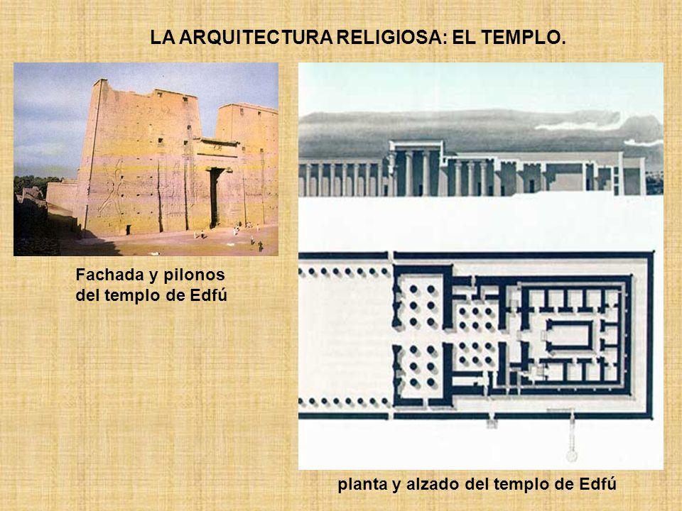 LA ARQUITECTURA RELIGIOSA: EL TEMPLO.