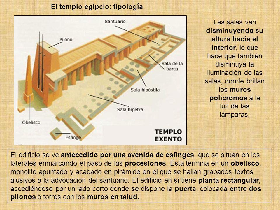 El templo egipcio: tipología