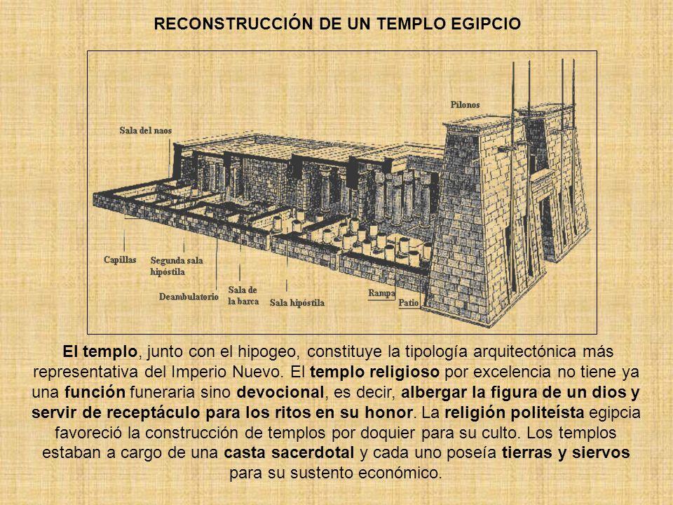 RECONSTRUCCIÓN DE UN TEMPLO EGIPCIO