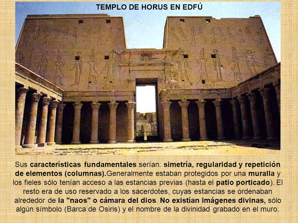 TEMPLO DE HORUS EN EDFÚ