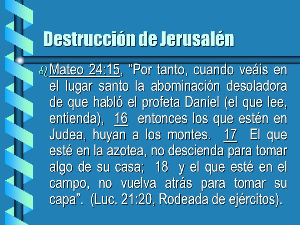 Destrucción de Jerusalén