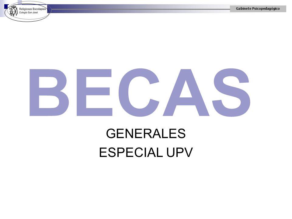 GENERALES ESPECIAL UPV