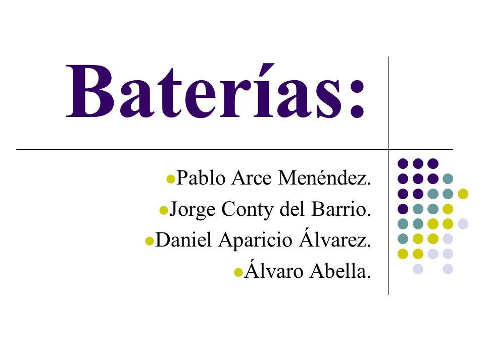 Baterías: Pablo Arce Menéndez. Jorge Conty del Barrio.