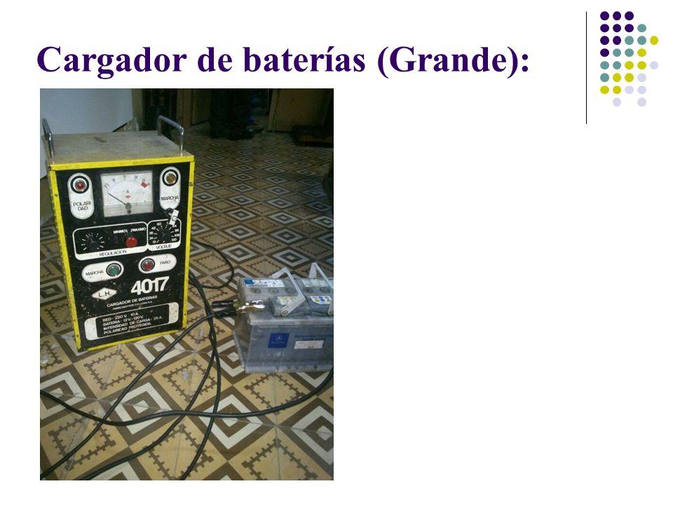 Cargador de baterías (Grande):