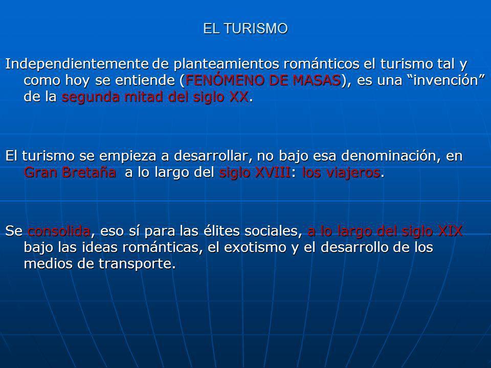 EL TURISMO