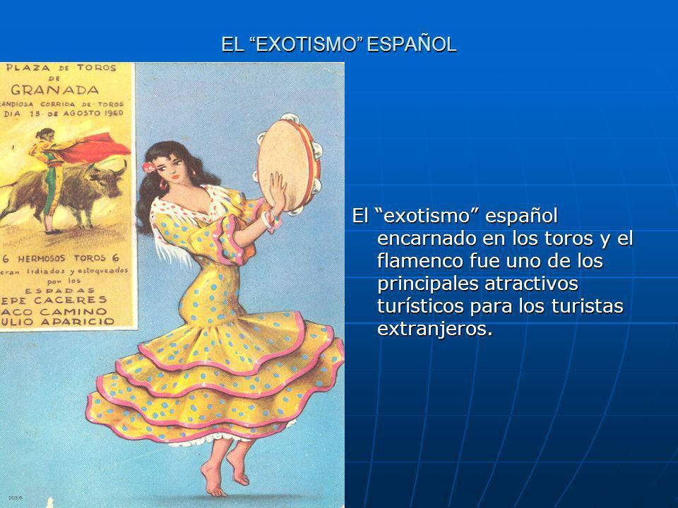 EL EXOTISMO ESPAÑOL