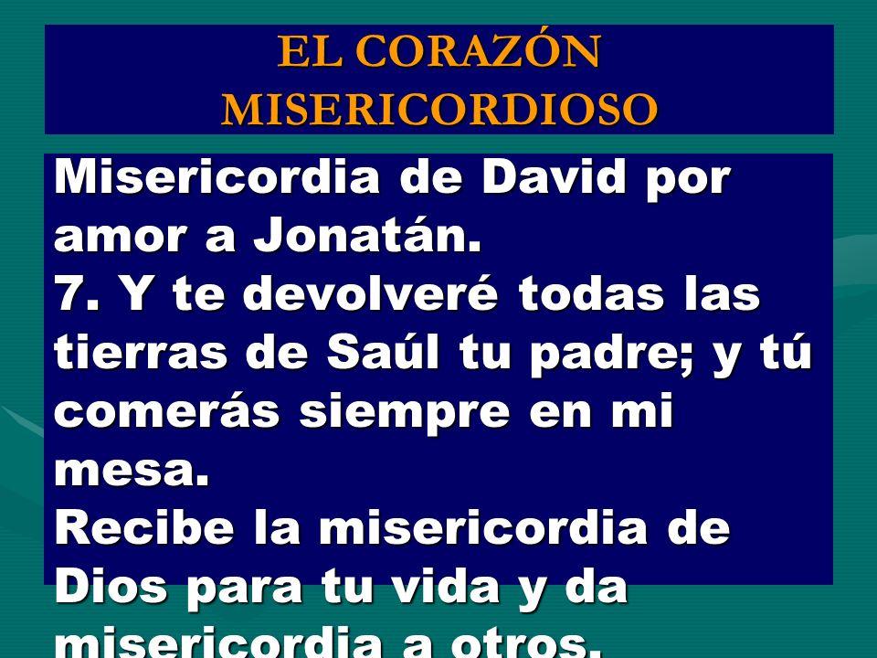 EL CORAZÓN MISERICORDIOSO