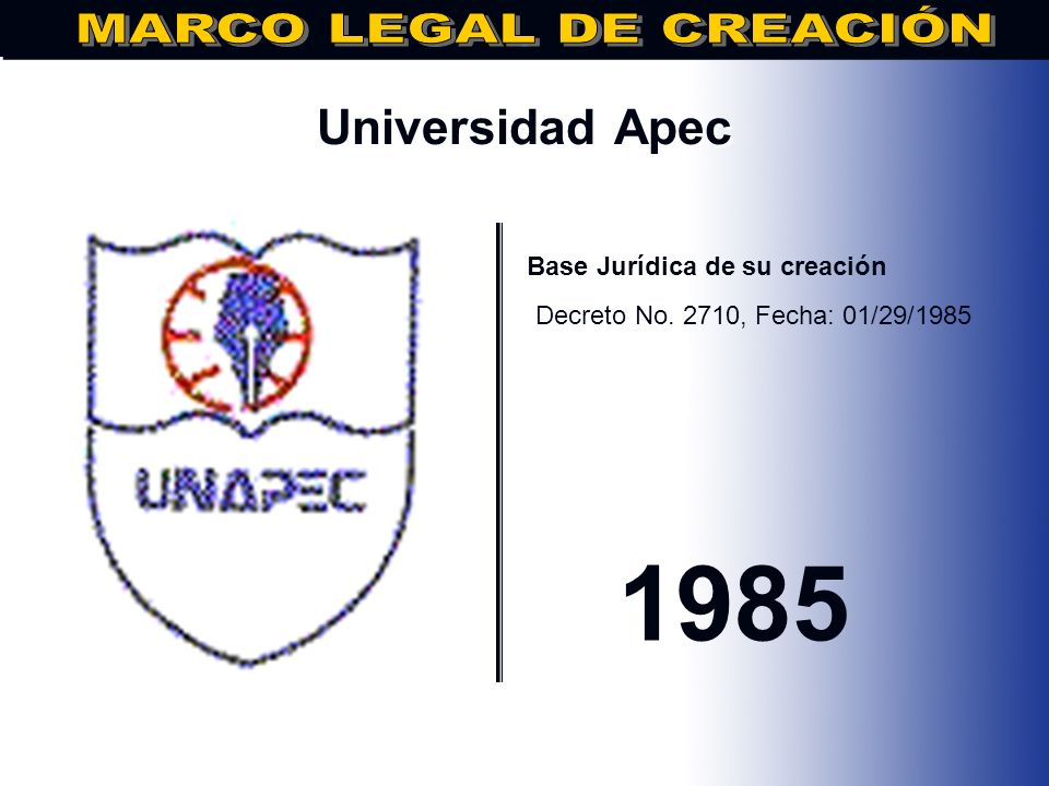 MARCO LEGAL DE CREACIÓN