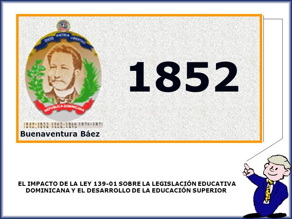 1852 Buenaventura Báez.