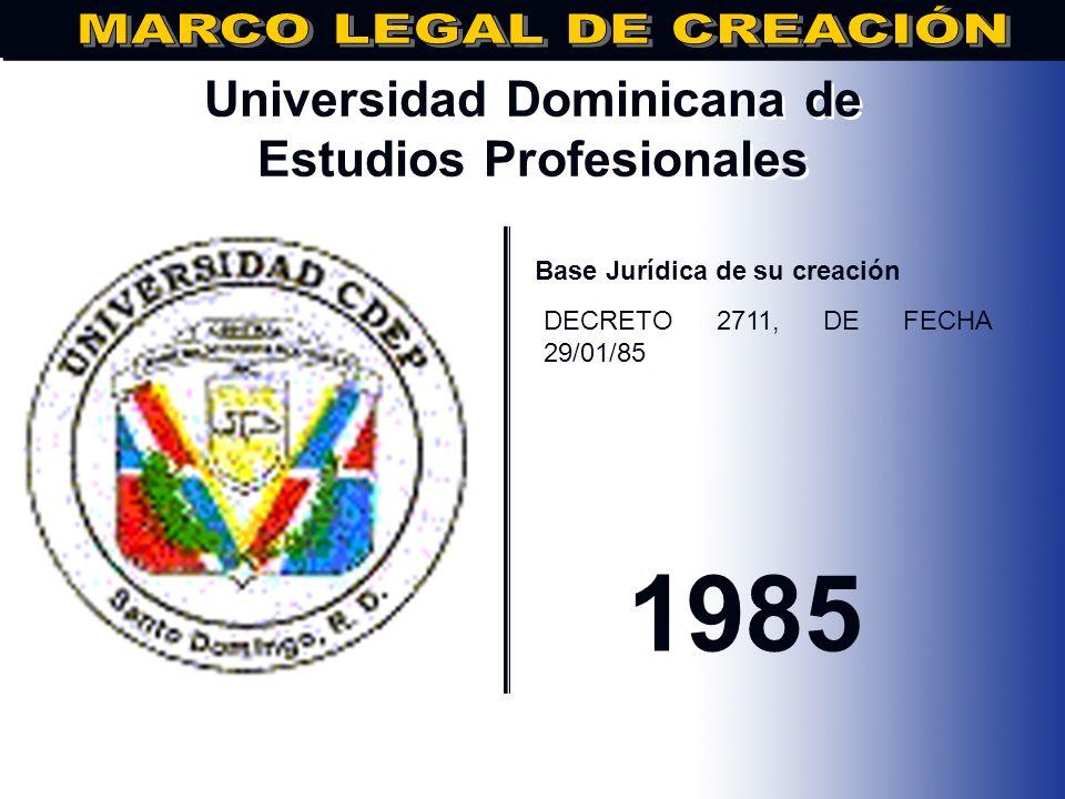 Universidad Dominicana de Estudios Profesionales