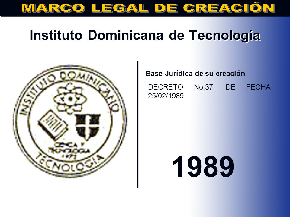 Instituto Dominicana de Tecnología