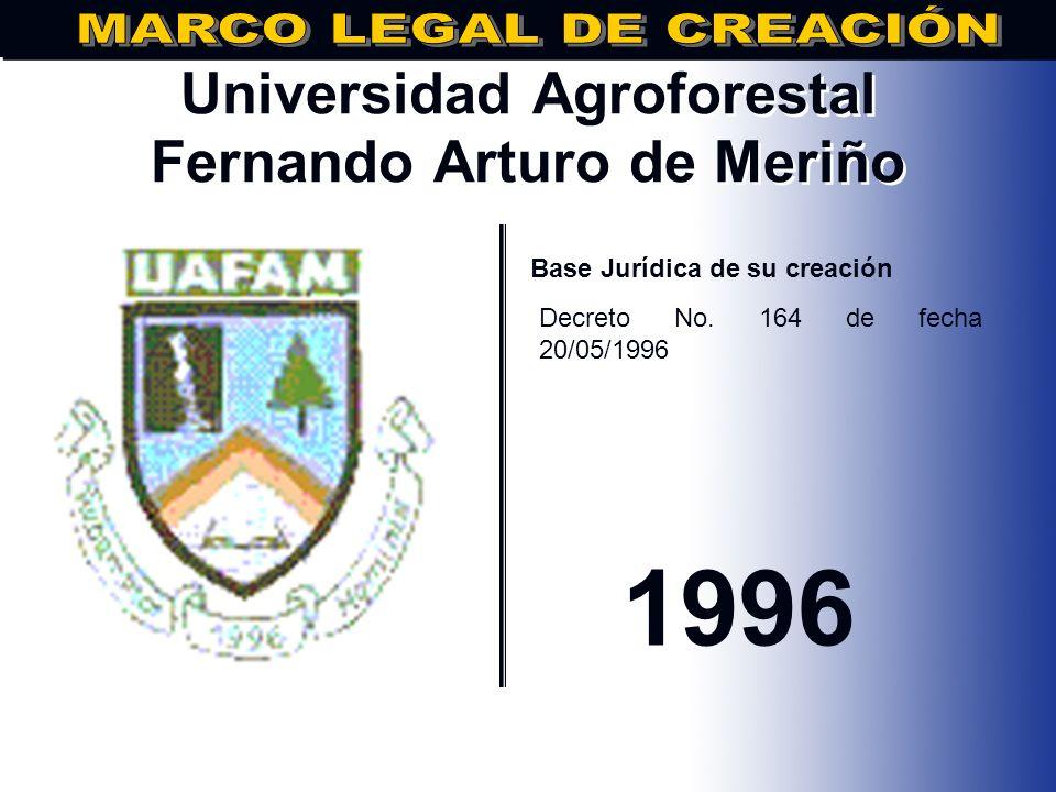 Universidad Agroforestal Fernando Arturo de Meriño