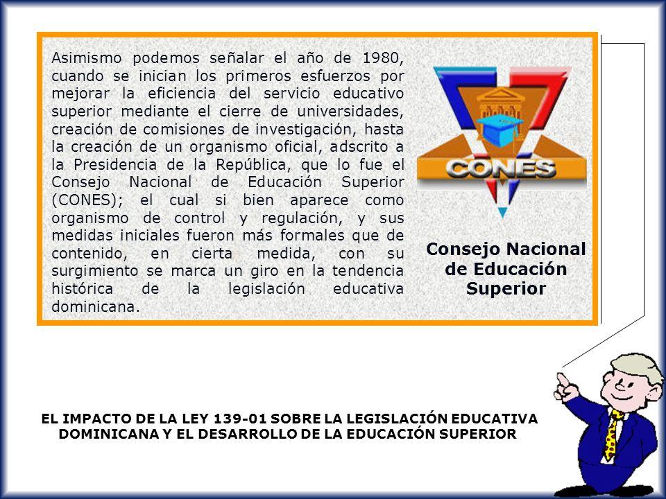 Consejo Nacional de Educación Superior