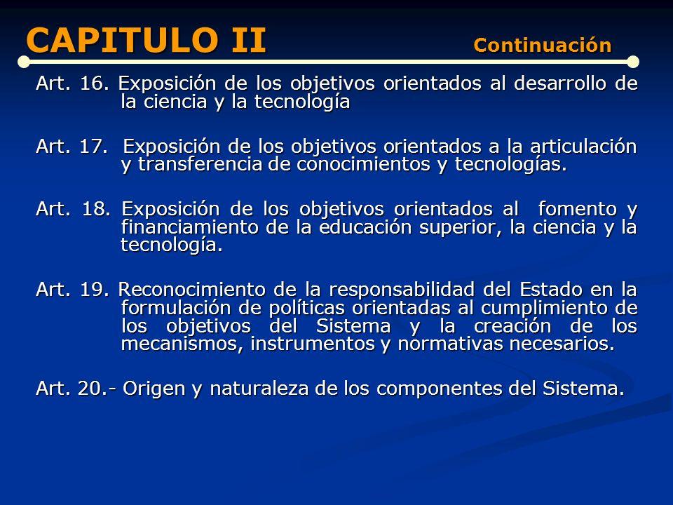 CAPITULO II Continuación