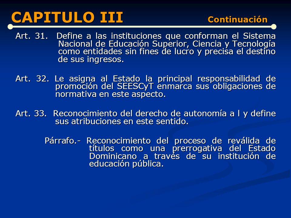 CAPITULO III Continuación