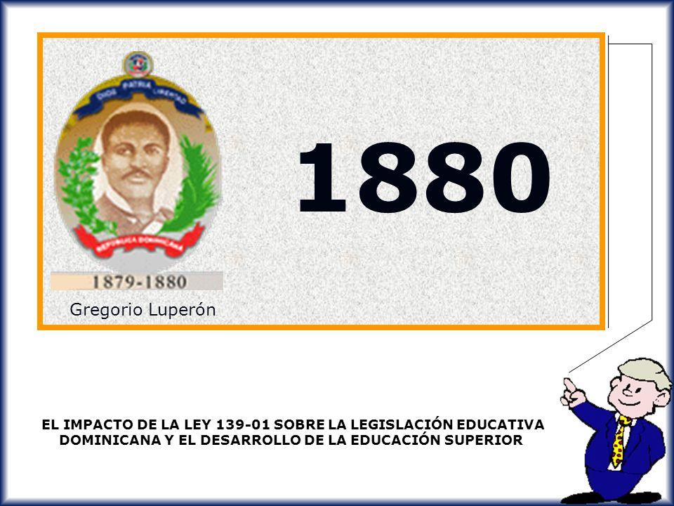 1880 Gregorio Luperón.