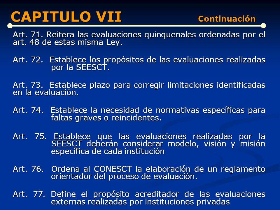 CAPITULO VII Continuación