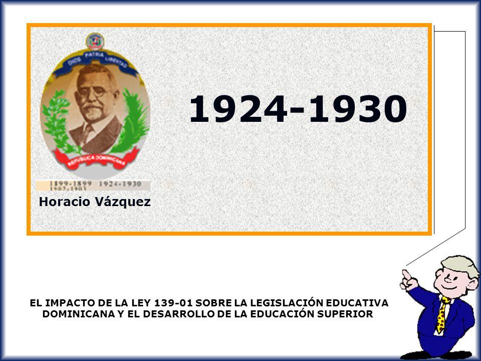 1924-1930 Horacio Vázquez.