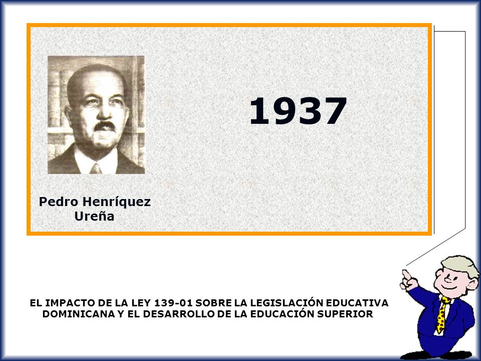 1937 Pedro Henríquez Ureña.