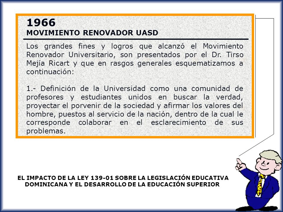 1966 MOVIMIENTO RENOVADOR UASD