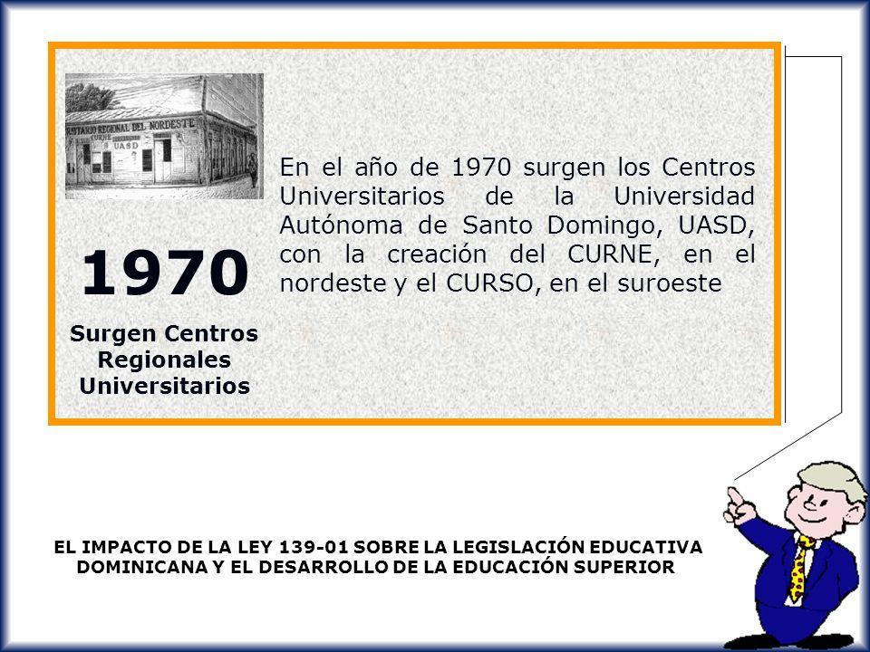 Surgen Centros Regionales Universitarios