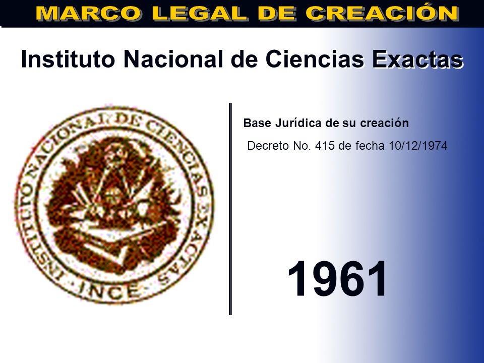 Instituto Nacional de Ciencias Exactas