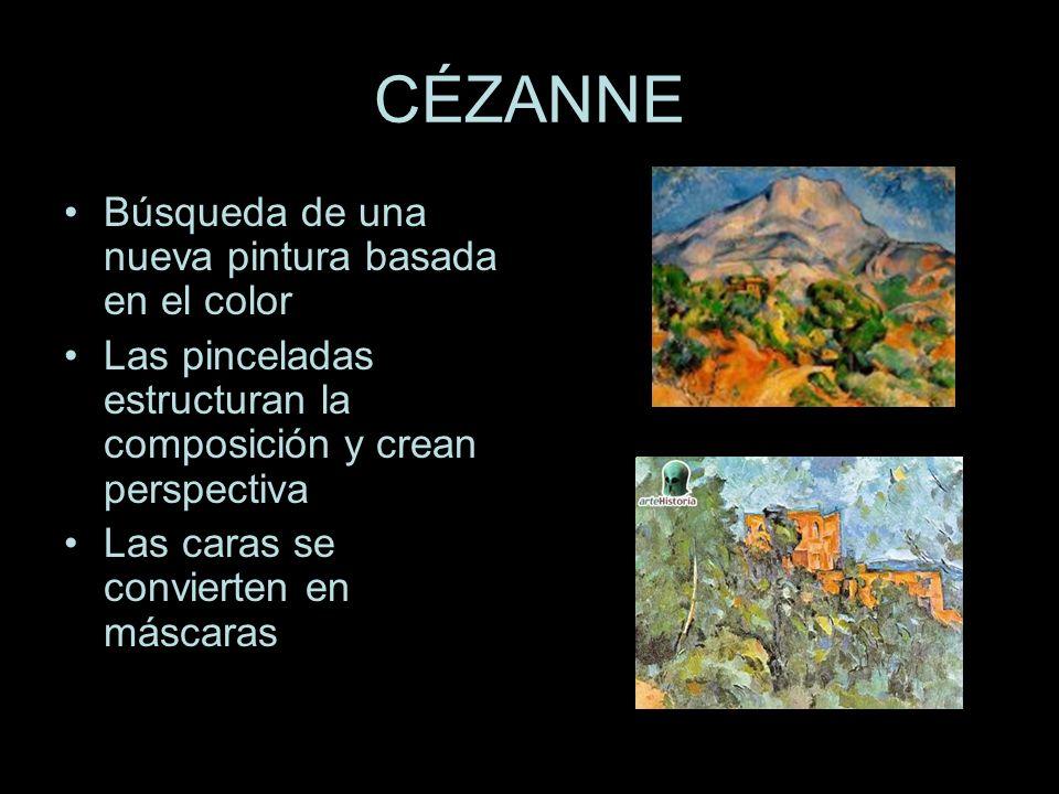 CÉZANNE Búsqueda de una nueva pintura basada en el color