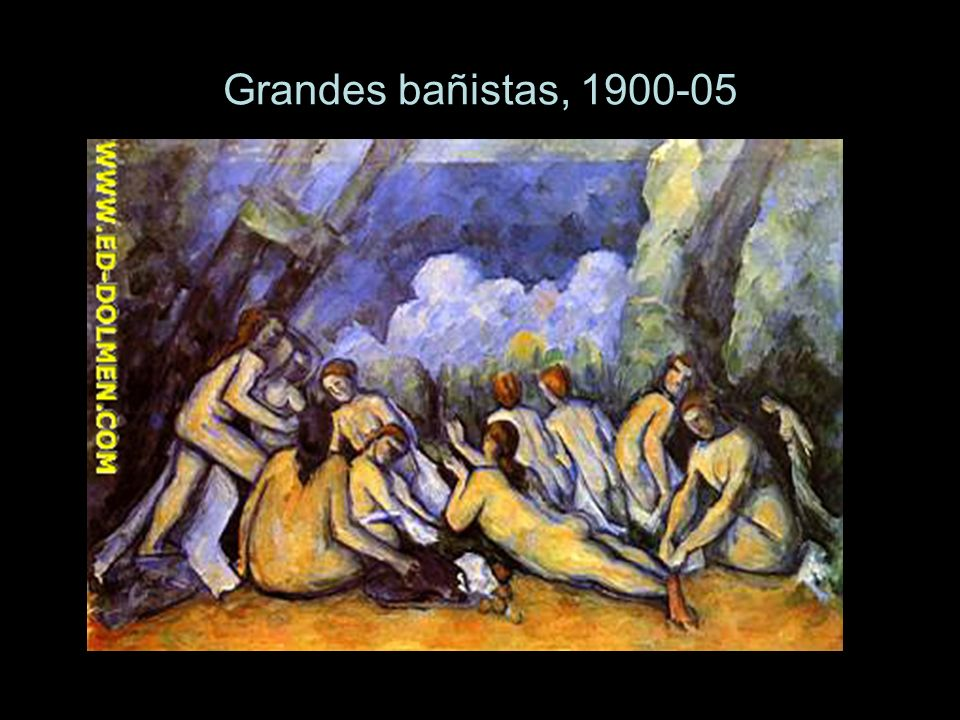 Grandes bañistas, 1900-05