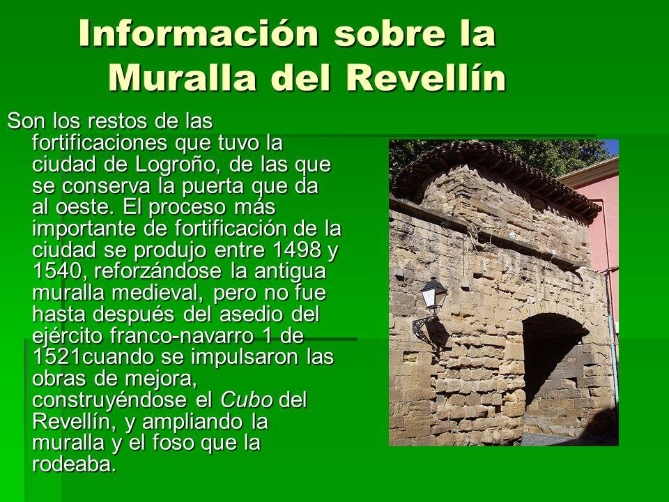 Información sobre la Muralla del Revellín