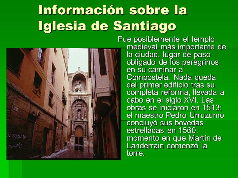 Información sobre la Iglesia de Santiago