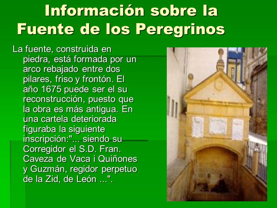 Información sobre la Fuente de los Peregrinos
