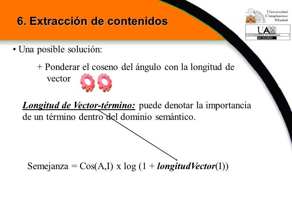 6. Extracción de contenidos