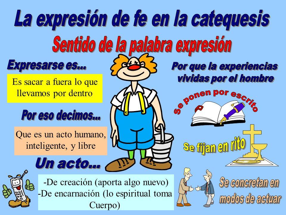 Sentido de la palabra expresión