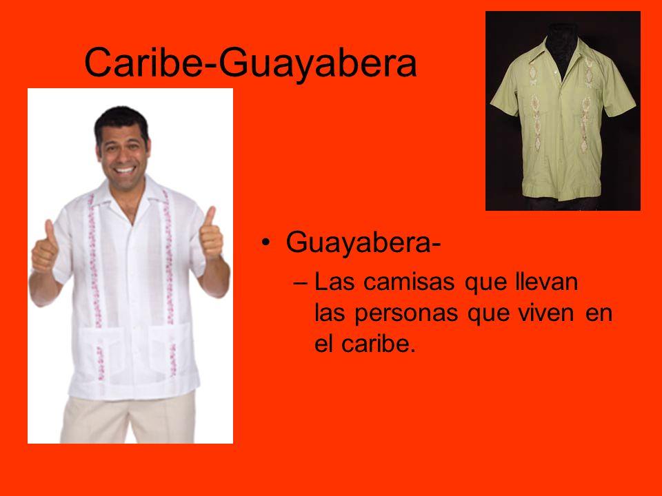 Caribe-Guayabera Guayabera-