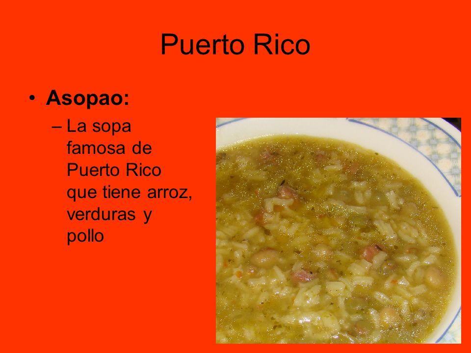 Puerto Rico Asopao: La sopa famosa de Puerto Rico que tiene arroz, verduras y pollo
