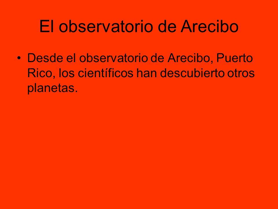 El observatorio de Arecibo