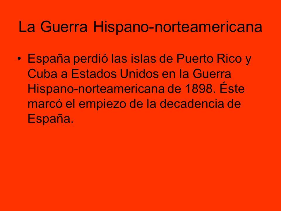 La Guerra Hispano-norteamericana