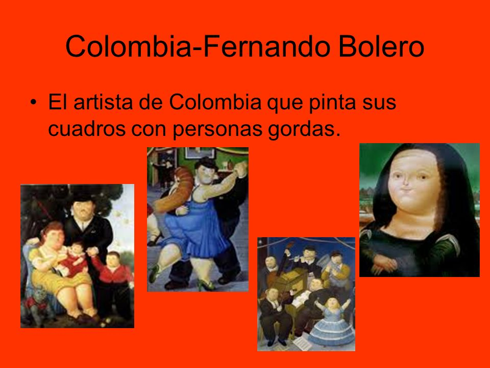 Colombia-Fernando Bolero