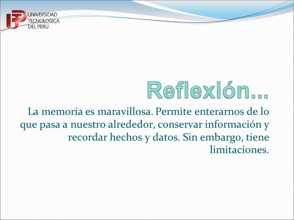 Reflexión...