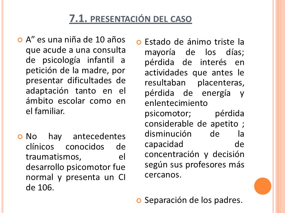 7.1. presentación del caso