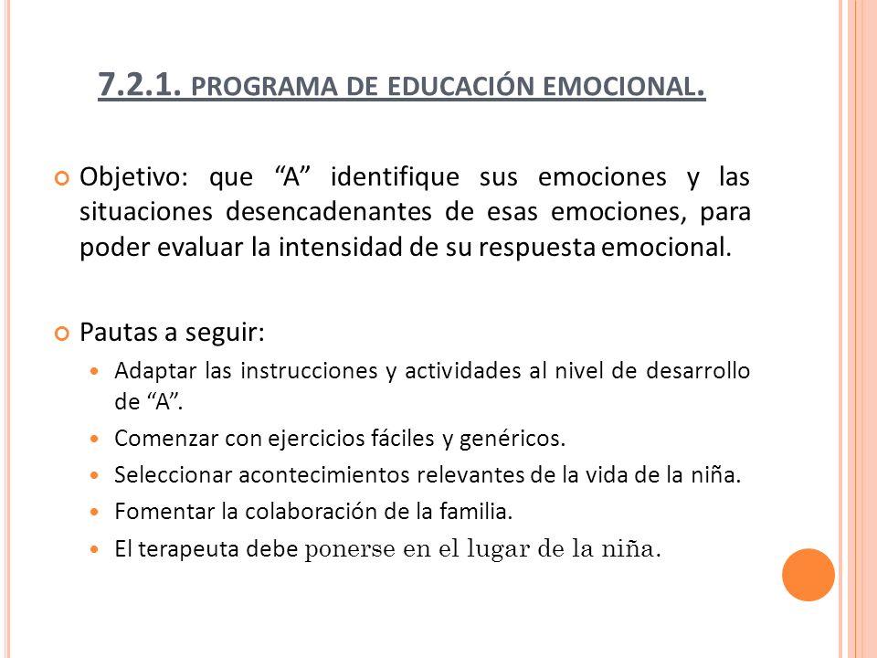 7.2.1. programa de educación emocional.