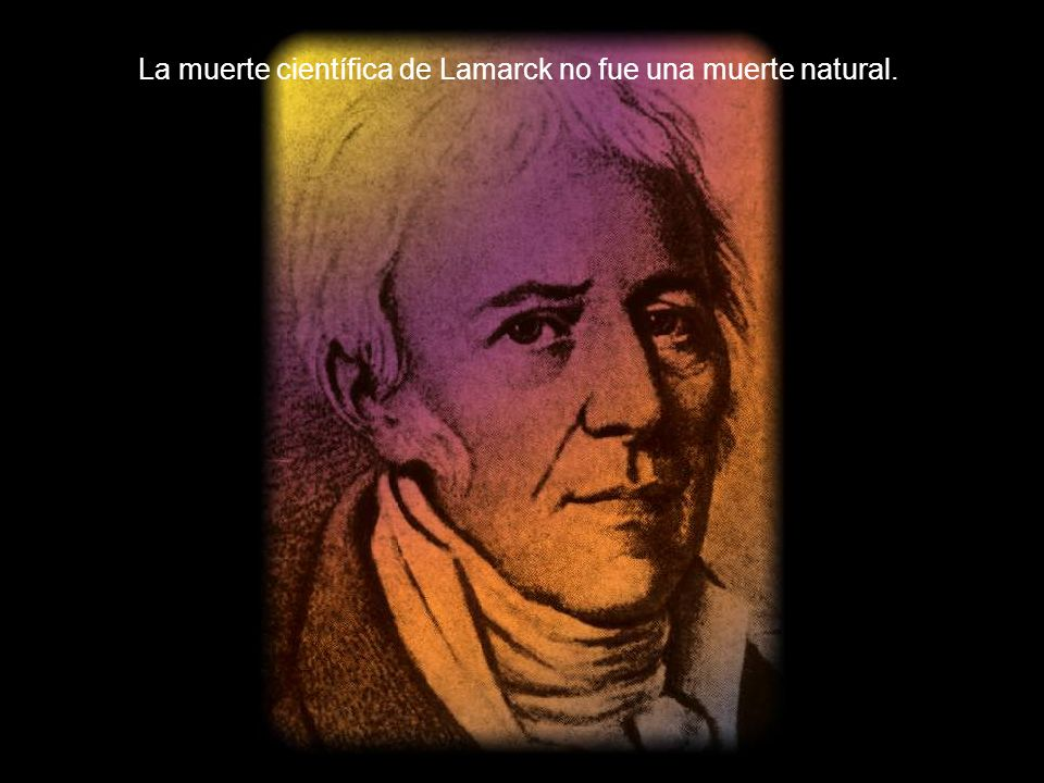 La muerte científica de Lamarck no fue una muerte natural.
