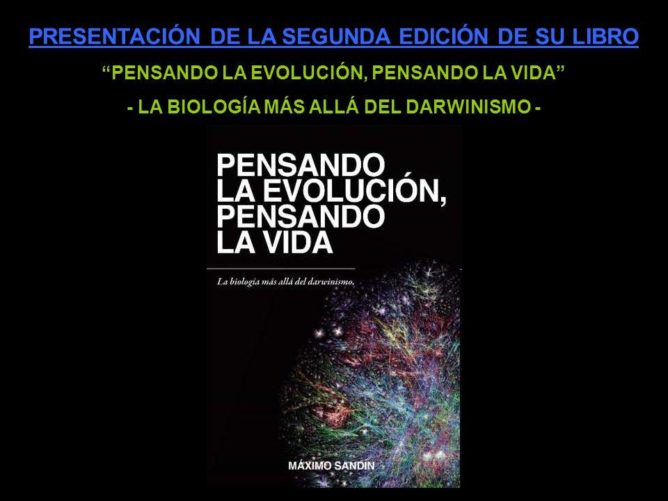 PRESENTACIÓN DE LA SEGUNDA EDICIÓN DE SU LIBRO