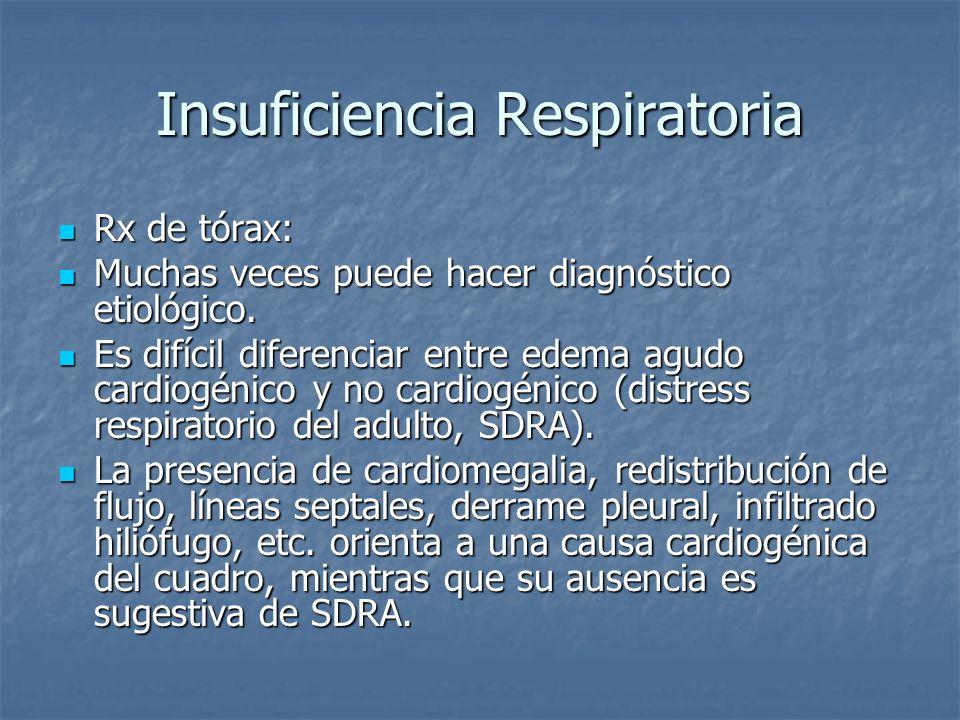 Insuficiencia Respiratoria