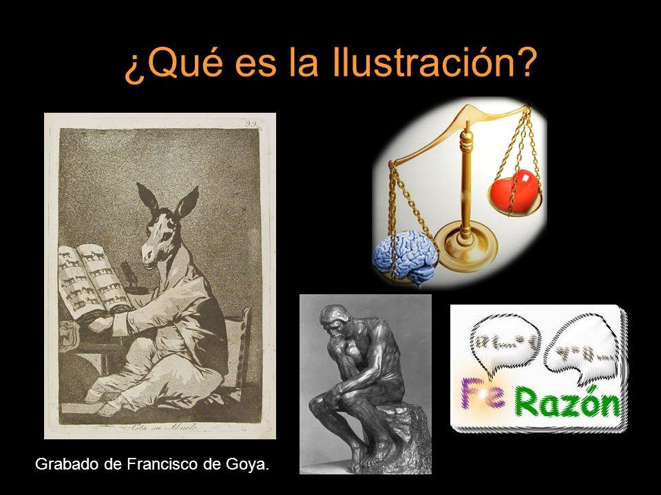 ¿Qué es la Ilustración Grabado de Francisco de Goya.