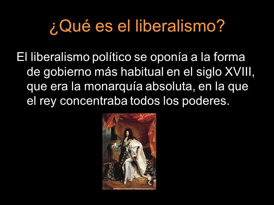 ¿Qué es el liberalismo