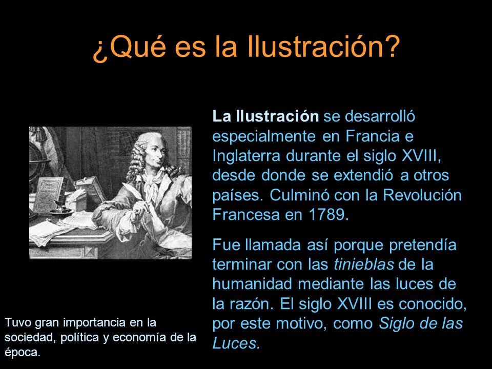 ¿Qué es la Ilustración