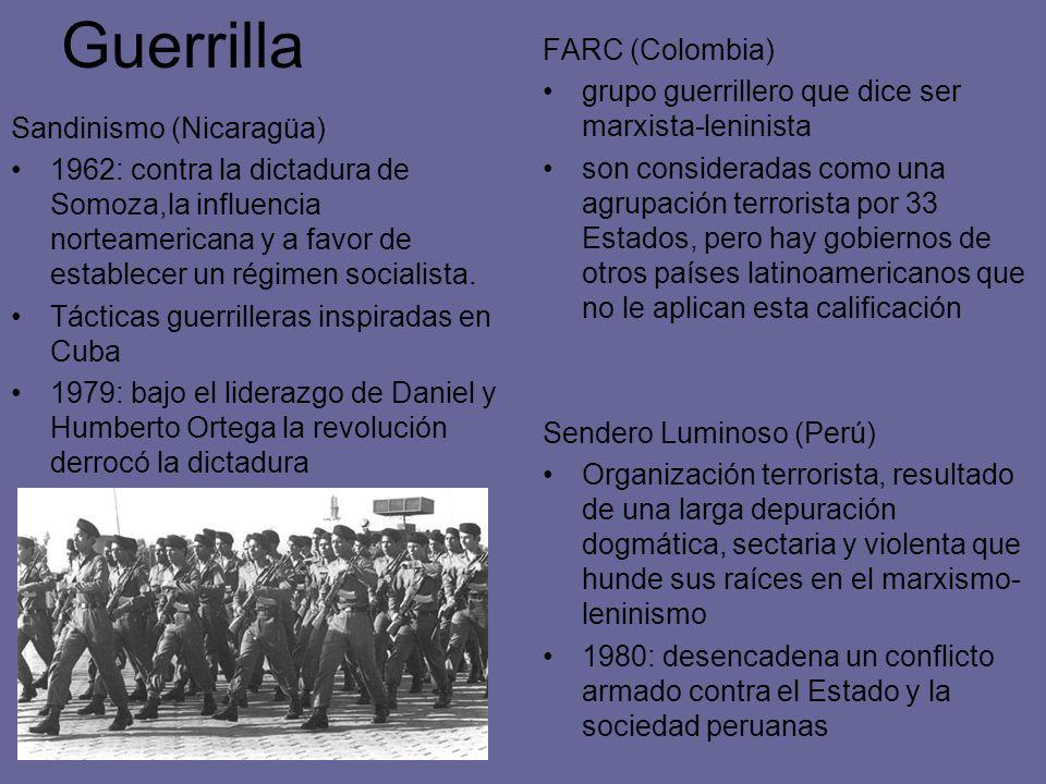 Guerrilla FARC (Colombia)