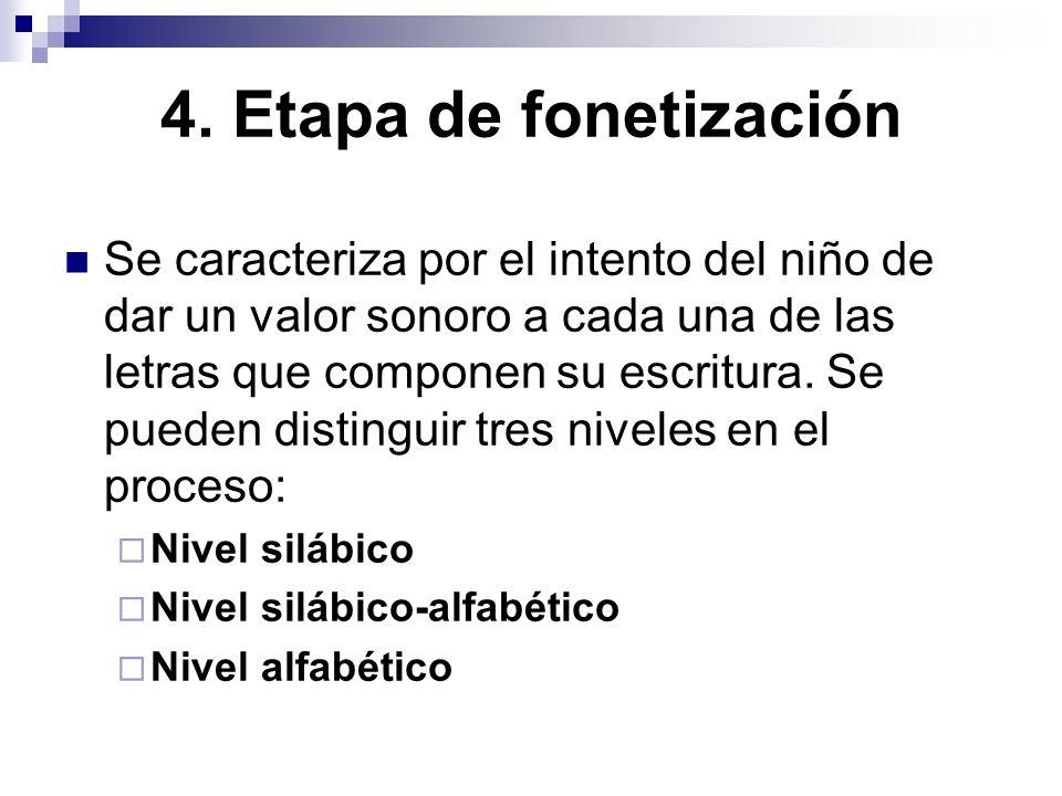 4. Etapa de fonetización
